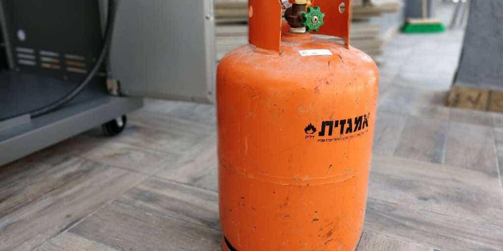 כמה גז נשאר בבלון הגז?