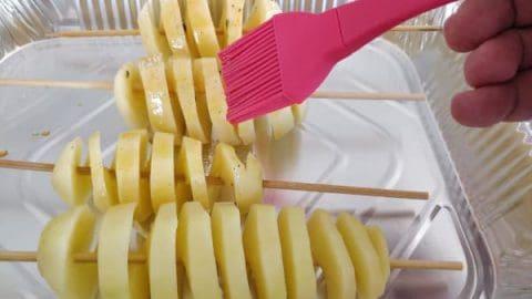 תיבול תפוח אדמה ספירלה
